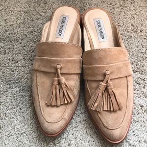 3179019d800 Steve Madden Shoes - Steve Madden Magan Tassel Mule Loafers